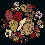 Simple floral pattern.Vector Stock Photo