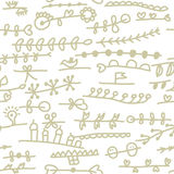 Simple floral seamless pattern cute Royalty Free Stock Photography