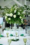 Flower arrangement on a table indoors