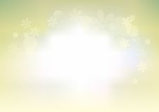 Simple Flower BAckground. Simple and soft flower background Royalty Free Stock Photography