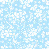 Simple Flower Pattern Stock Photos