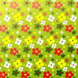 Simple flower pattern colorfulness cute Stock Photo