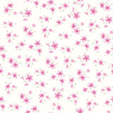Simple flower pattern Stock Photography