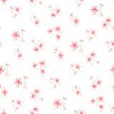 Simple flower pattern 3 Stock Photos