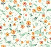Simple Flowers. Stock Image