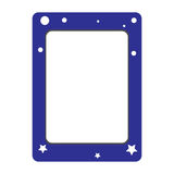 Simple frame Stock Image