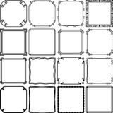 Simple frames Stock Photos