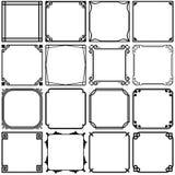 Simple frames vector illustration