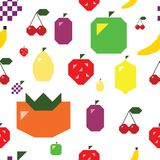 Simple Fruit seamless textute Royalty Free Stock Images