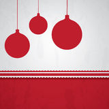 Simple and fun Christmas background Stock Image