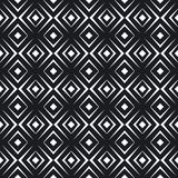 Simple geometric abstract seamless pattern. Vector illustration Royalty Free Stock Image