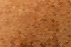 Simple geometric background. Triangular geometric background in warm colors Stock Image