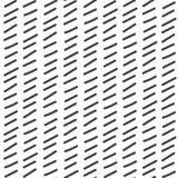 Simple geometric pattern. Hand drawn seamless background. Royalty Free Stock Image