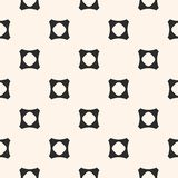Geometric seamless pattern with concave perforated squares. Royalty Free Stock Photography