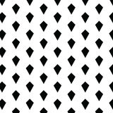 Simple geometric seamless vector pattern or background with diamond shapes Royalty Free Stock Photos