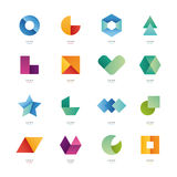 Simple geometric shapes. Stock Images