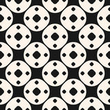 Simple geometric shapes pattern. Funky style geometrical  Royalty Free Stock Photo
