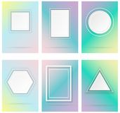 Simple geometric shapes Stock Photography