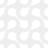 Simple geometric vector pattern - diagonal lines on white backgr Royalty Free Stock Images