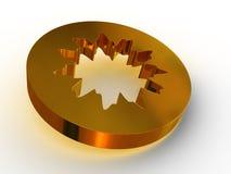 Simple geometrical figure. Royalty Free Stock Photo