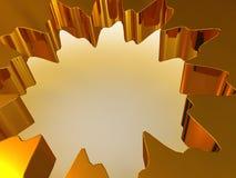 Simple geometrical figure. Stock Photo