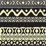 Simple geometrical vector pattern Stock Image