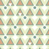 Simple geometry seamless pattern. Royalty Free Stock Image