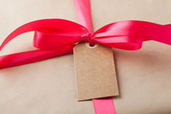 Simple gift Stock Photography