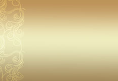 Simple gold background Royalty Free Stock Photo