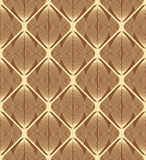 Simple golden pattern. Vector Illustration. Royalty Free Stock Photo