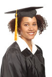 Simple graduation portrait Royalty Free Stock Image