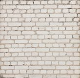 Simple gray brick wall with mortar usable as texture Royalty Free Stock Photo