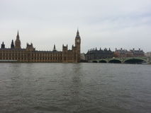 Simple gray day in Westminster Stock Photography