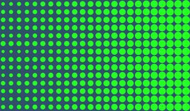 Simple green halftone background Stock Photos
