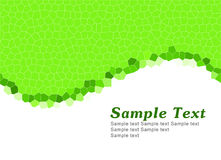 Simple Green Template Stock Photo
