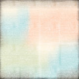 Simple Grunge Background Worn Look Peach Blue Textured Stock Photography