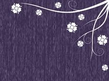 Simple grungy floral background Royalty Free Stock Photos