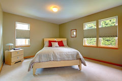 Simple Guest Bedroom simple guest bedroom royalty free stock images - image: 23634219
