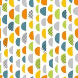 Simple hand pattern Royalty Free Stock Images