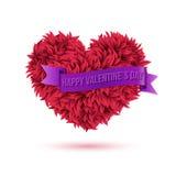 Simple Happy Valentines Day Concept Stock Photo