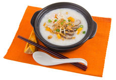 Simple and healthy porridge cooked with sweet potato. For diet a Royalty Free Stock Image