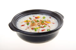 Simple and healthy porridge cooked with sweet potato. For diet a Royalty Free Stock Images