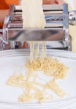 Simple homemade pasta Royalty Free Stock Photography