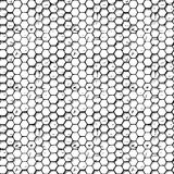 Simple honeycomb pattern Stock Image