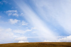 Simple horizon Royalty Free Stock Images