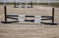 Simple Horse Jumps Stock Photo