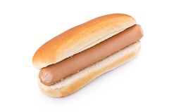 Simple Hotdog Royalty Free Stock Photo