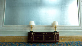 Simple hotel lobby Stock Images