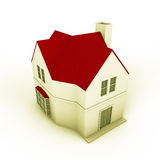 Simple house model Stock Image
