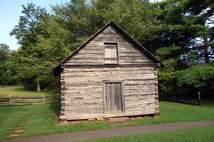 A simple house from pioneer days Stock Photography